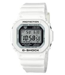 CASIO 卡西歐 G SHOCK 夏日簡約時尚太陽能電波數位錶 GW-M5610MW-7 46.7mm