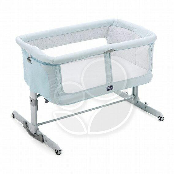 ChiccoNext2MeDream移動舒適嬰兒床-斐濟藍【悅兒園婦幼生活館】