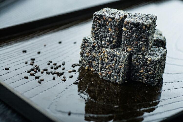 芝麻糖-黑芝麻 400g/罐 - 余大叔麥芽餅