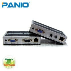 PANIO VGA影像延長器 【VE170】 透過Cat.5網路線延長170m 新風尚潮流