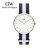 瑞典正品代購 Daniel Wellington 0602DW 銀  尼龍 帆布錶帶 女錶手錶腕錶 36MM 0