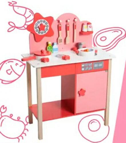 kikimmy 星光木製廚房玩具組 K328【德芳保健藥妝】