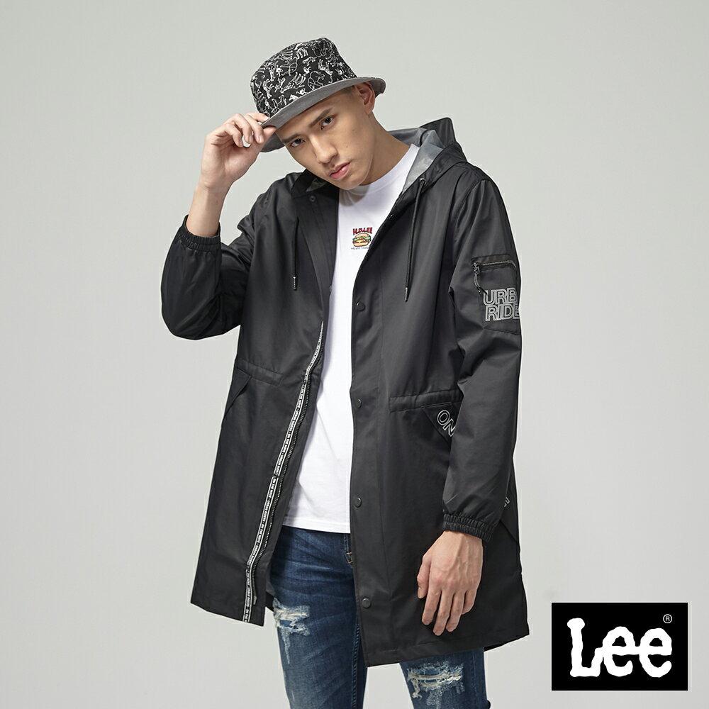 Lee 連帽防風外套 UR黑色
