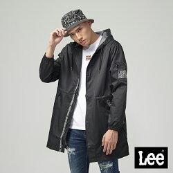 Lee 連帽防風外套/UR黑色