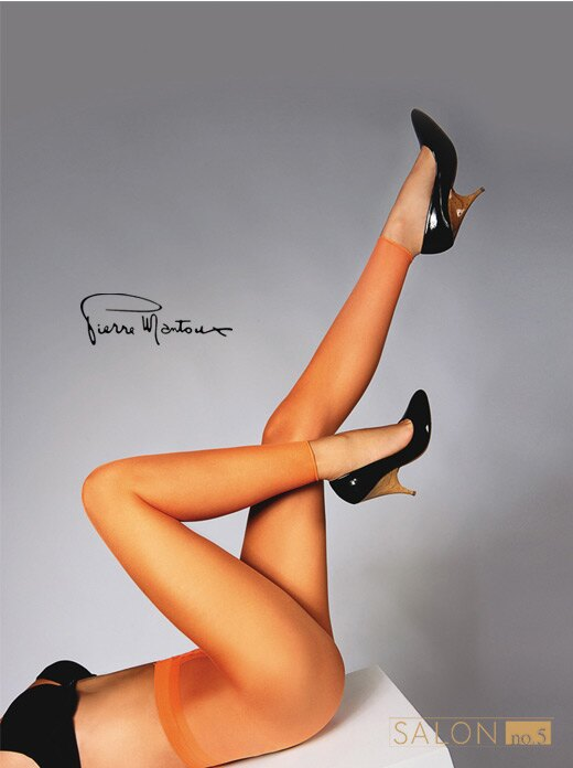 { 55折 }  義大利Pierre Mantoux薄紗半透明時尚內搭褲 原裝進口 - 限時優惠好康折扣