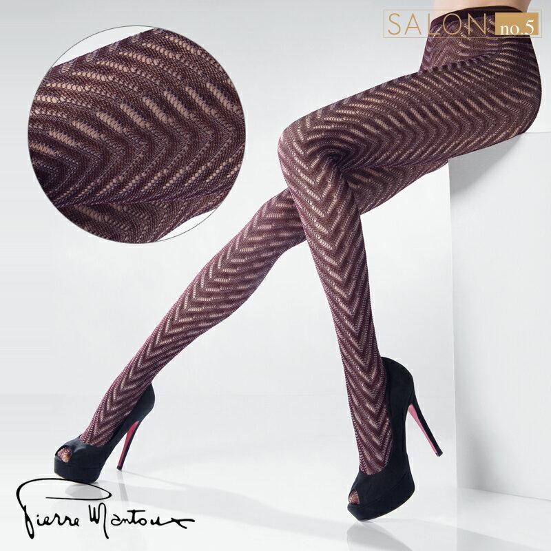{55折} 皮爾曼都Pierre Mantoux高級棉鏤空保暖連褲襪 義大利進口絲襪