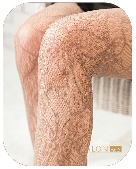 { 7折 }  皮爾曼都Pierre Mantoux細膩花瓣蕾絲連褲襪 歐洲精品 2
