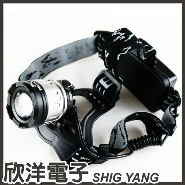 ※欣洋電子※光之圓CREET6LED凸透鏡頭燈49w(CY-LR6307)