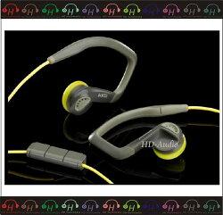 弘達影音多媒體 AKG K326 灰黃色 耳塞式耳機 適用 iPhone/iPod 新搭檔 公司貨 免運費