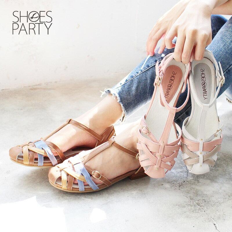 【S2-18514L】SP經典復刻版手工編織涼鞋_Shoes Party 0