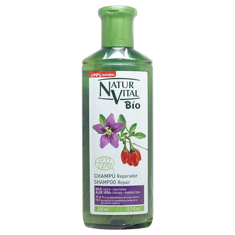 綠色生機健康館 NaturVital Bio~枸杞潔淨保濕洗髮精300ml/ 罐 ~特惠中~