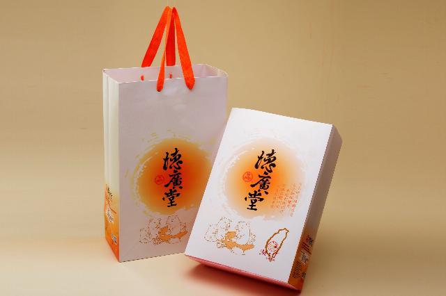 【德廣堂香腸】古早味香腸禮盒 - 古早味香腸x1,黑香腸x1, 杏鮑菇香腸x1(3包/盒)(10)