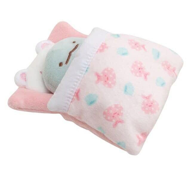 【蘋果小鹿】角落生物生活配件 白熊小床墊(不含SS公仔) 2