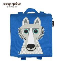 【COQENPATE】法國有機棉無毒環保布包 - 小童寶包幫- 野狼