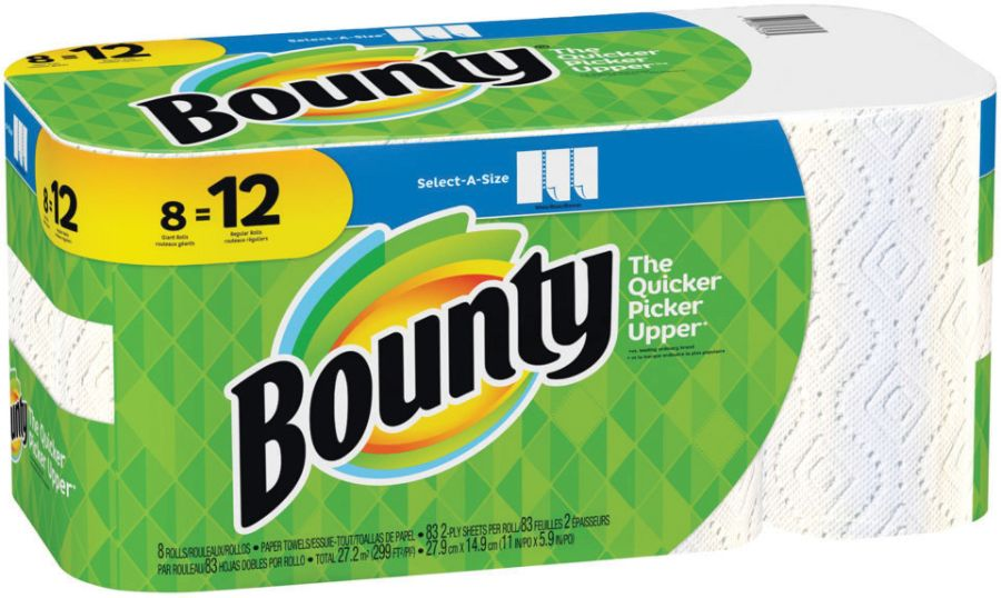 0897e9116014 Office Depot: Bounty Select-A-Size 2-Ply Paper Towels, 11