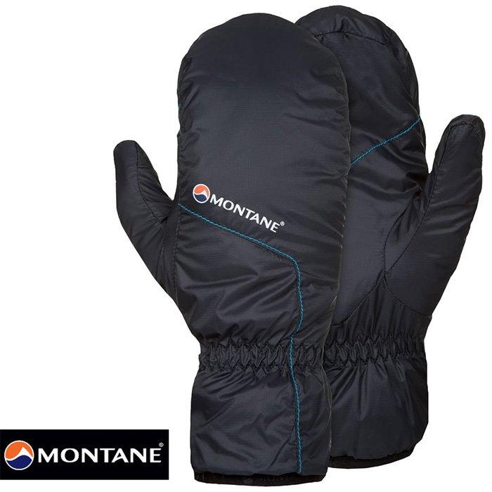【Montane 英國】Prism Glove 保暖二指手套 保暖手套 旅遊 賞雪手套 冬季保暖 男款 黑色 (GPRMI)