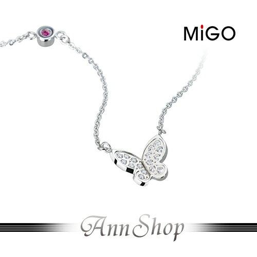 AnnShop小安的店~米格MiGO‧飛舞白鋼項鍊~~單條~情人 SNT670