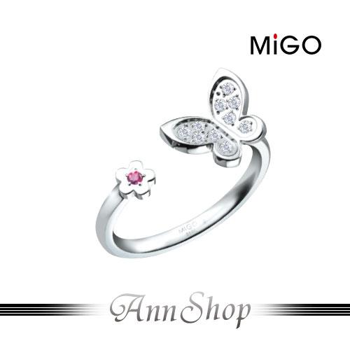 ~米格 MiGO‧依戀白鋼戒指~鋼式飾品  情人  戒指 SRT693