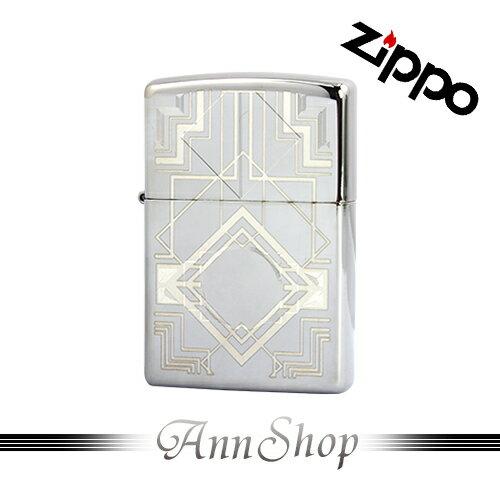 AnnShop小安的店【Zippo‧雙色幾何打火機】全球知名防風打火機‧情人禮物28950