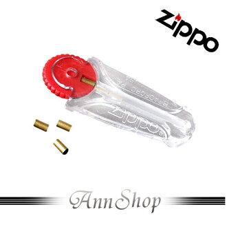 AnnShop【ZIPPO.打火石】小安的店原廠六入裝打火機補充消耗品銀飾禮品2406