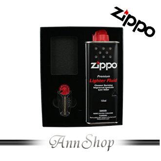 AnnShop【ZIPPO.高級原廠禮盒】小安的店原廠小煤油+打火石銀飾精品禮物50RT