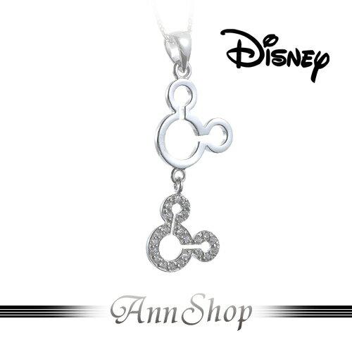 AnnShop小安的店【迪士尼‧圓舞曲米奇項鍊】【限量預購】水鑽Mickey飾品禮物S1MP301