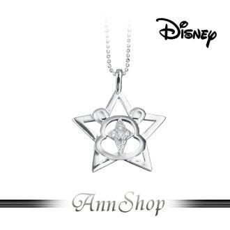 AnnShop小安的店【迪士尼‧心星相印項鍊】【限量預購】小熊維尼純銀飾品禮物S1WP043