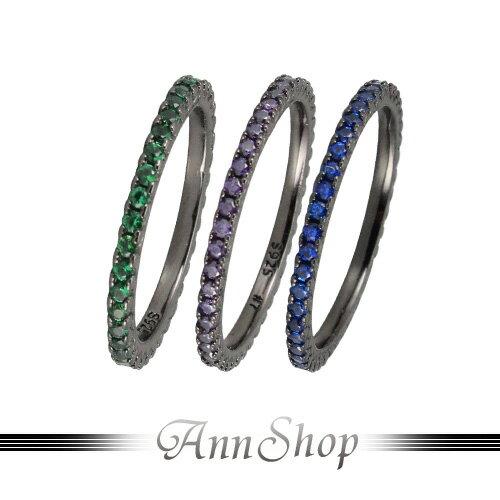 AnnShop~銀線戒純銀戒指~黑鈦.925純銀~情人 RB~1150AC~CC~DC