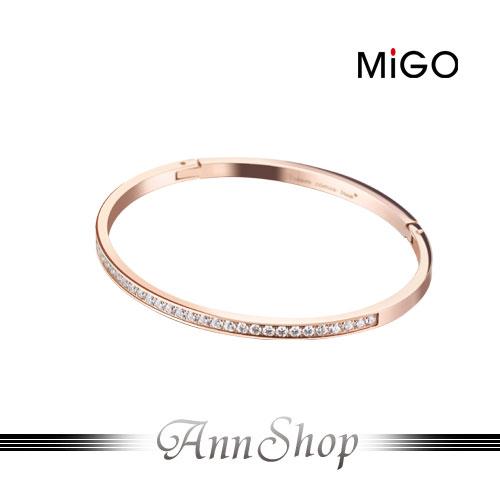 AnnShop【米格MiGO‧Pretty白鋼手環】【單個】情人禮品SB632-RG