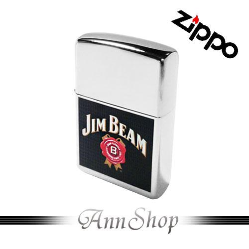 AnnShop【ZIPPO‧JB彩色商標】小安的店銀飾精品防水打火機24552