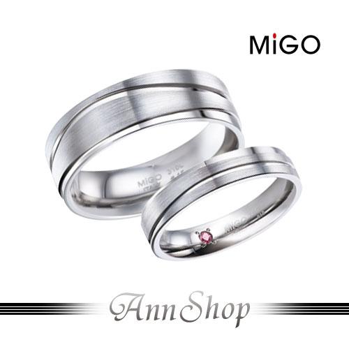 AnnShop~米格MiGO•天籟白鋼戒指~~單個~情人 SR581~SRT582