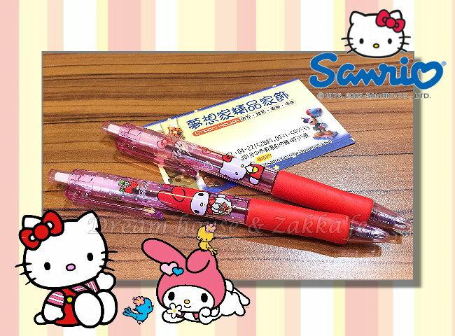 日本制造 正版三丽鸥 Hello Kitty Melody 红笔/原子笔《 2款任选 》★ 梦想家精品生活家饰 ★