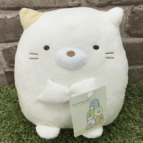 真愛日本:【真愛日本】17061600006角落公仔10吋娃-貓咪SAN-X角落生物角落公仔娃娃抱枕玩偶新品