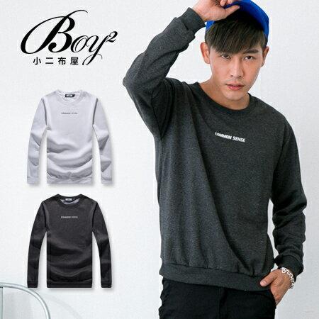 ☆BOY-2☆【ND7260】大學T 韓系簡約英字圓領長袖上衣 1