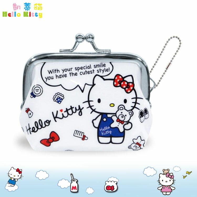 大田倉 日本進口正版 三麗鷗 Hello Kitty 凱蒂貓 多功能 零錢包 收納小包 小零錢包吊飾 錢包 047836