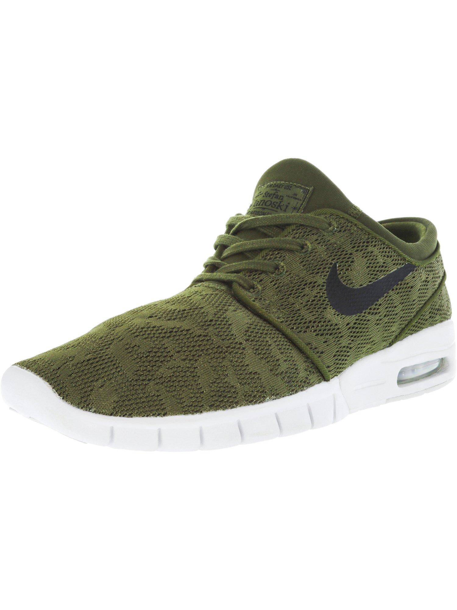 edc2594d0e90 Nike Men s Stefan Janoski Max Legion Green   Black Ankle-High Running Shoe 0