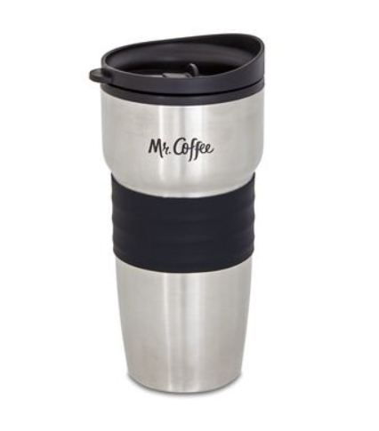 Mr. Coffee Single Cup Coffeemaker with Built-in Grinder, with Travel Mug Included BVMC-SCGB200 2