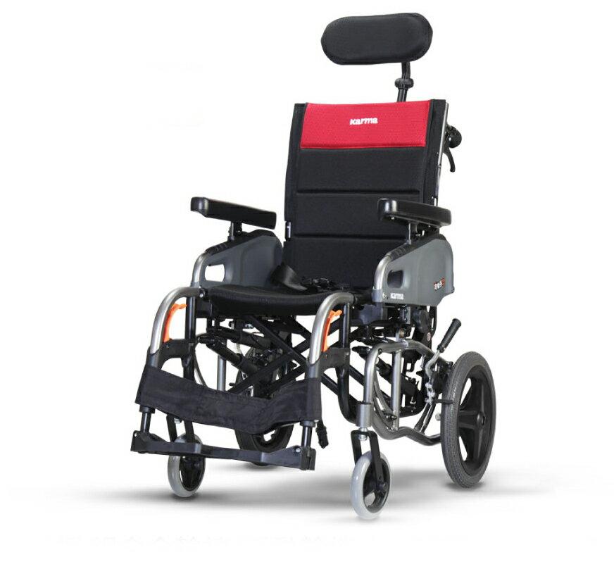 來而康 康揚 鋁合金輪椅/手動輪椅 仰樂多2 KM-VIP2 輪椅補助B款 附加功能A款B款C款 贈 輪椅置物袋