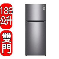 LG電子到領券打95折★回饋15%樂天現金點數★LG樂金【GN-I235DS】186L 變頻上下門冰箱