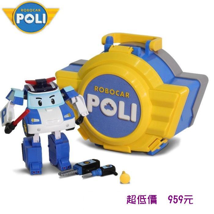 *美馨兒* 波力POLI- LED變形波力手提基地[RB83072] 959元