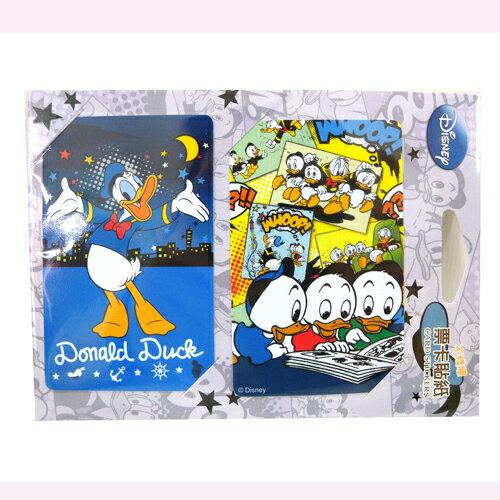 【真愛日本】15081900018票卡貼-唐老鴨月亮  迪士尼  Donald Duck  唐老鴨  貼紙  票卡貼