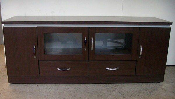 【尚品傢俱】642-04 胡桃5尺電視櫃長櫃矮櫃~另有其他尺寸