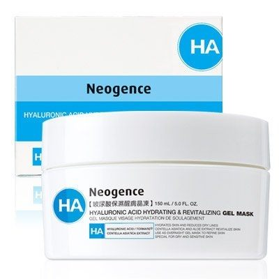 Neogence 霓淨思玻尿酸保濕醒膚晶凍150ml 加大版 效期2018.10【淨妍美肌】