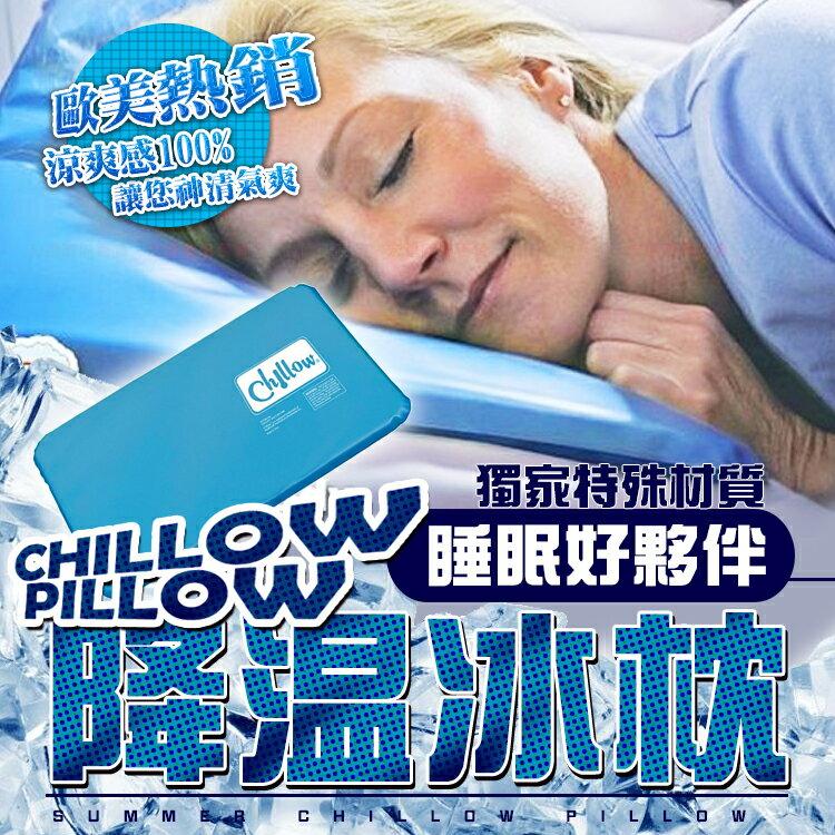 【H01065】TV爆款 Chillow pillow 夏季熱賣產品 降溫冰墊 睡眠冰枕 防爆冰枕頭