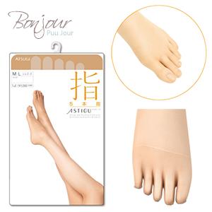 BONJOUR日本ASTIGU機能絲襪☆抗菌消臭加工美腿(5指)系列J.【ZE155-268】I. 0