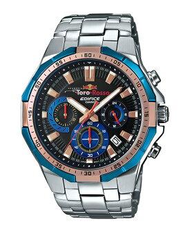 CASIO EDIFICE EFR-554TR-2A紅牛賽車聯名腕錶/黑面47mm