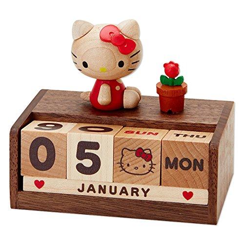X射線【C310625】Hello Kitty桌上型萬年曆,年曆/月曆/日曆/黃道吉日/黃曆/農民曆/行事曆