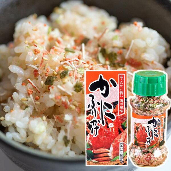 【MINARI】螃蟹風味拌飯料日式飯友海鮮香鬆玻璃瓶裝85gみなりかにふりかけ日本進口