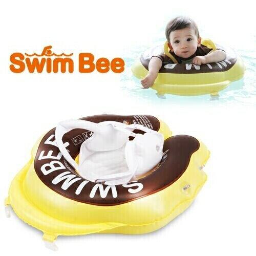 SWIMBEE 嬰幼蜜蜂學習泳圈/兒童泳圈-附遮陽棚(大童)