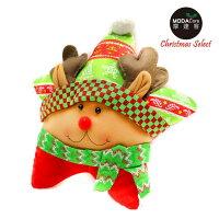 送家人聖誕交換禮物推薦聖誕禮物抱枕及靠枕到【摩達客】超萌聖誕快樂五角星抱枕靠枕-圍巾麋鹿YS-CTD018005就在摩達客推薦送家人聖誕交換禮物